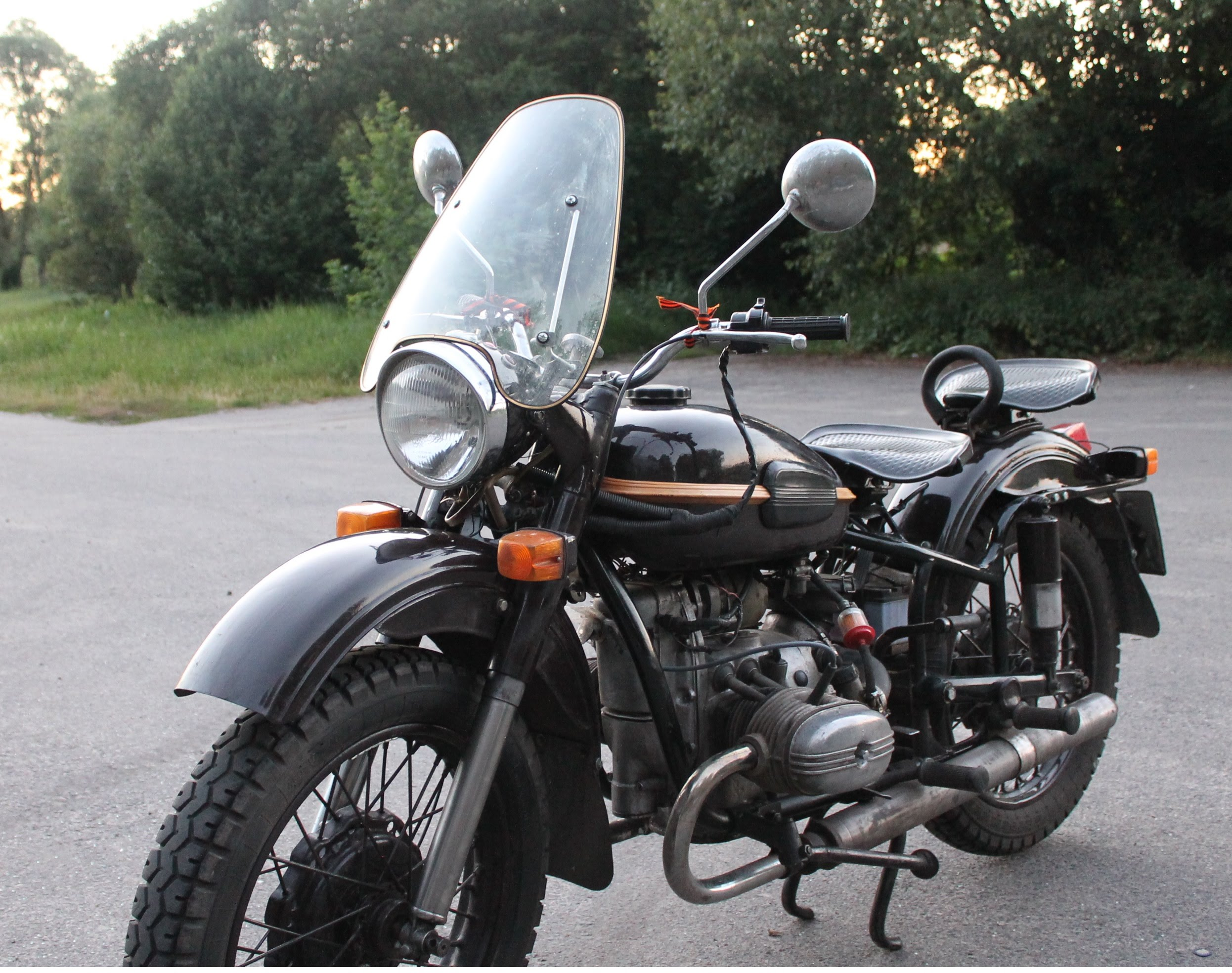 Ural M 66 with sidecar 1973 images #127006