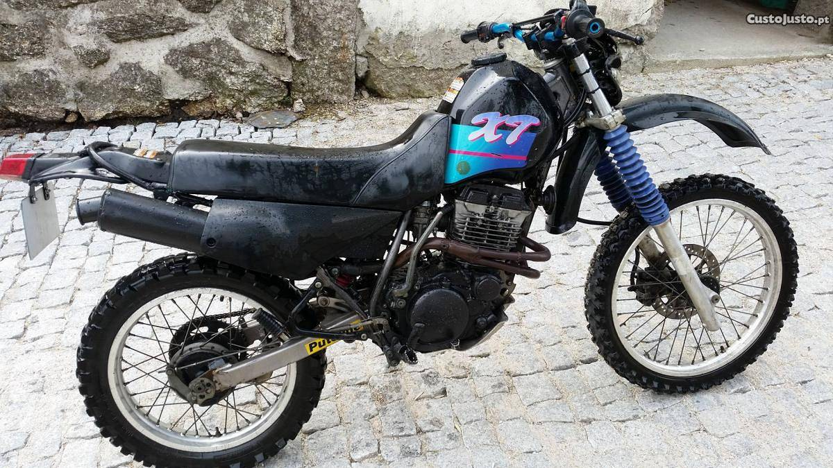 1992 yamaha xt 350 pics specs and information. Black Bedroom Furniture Sets. Home Design Ideas