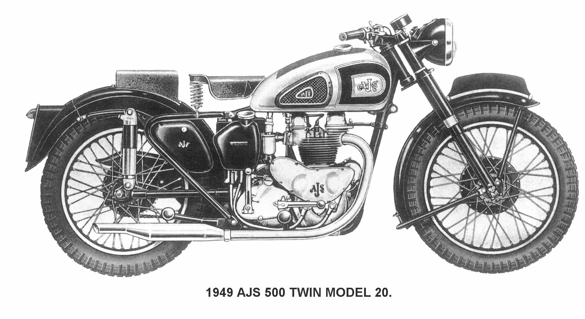 AJS Model 20 500 1955 images #91723