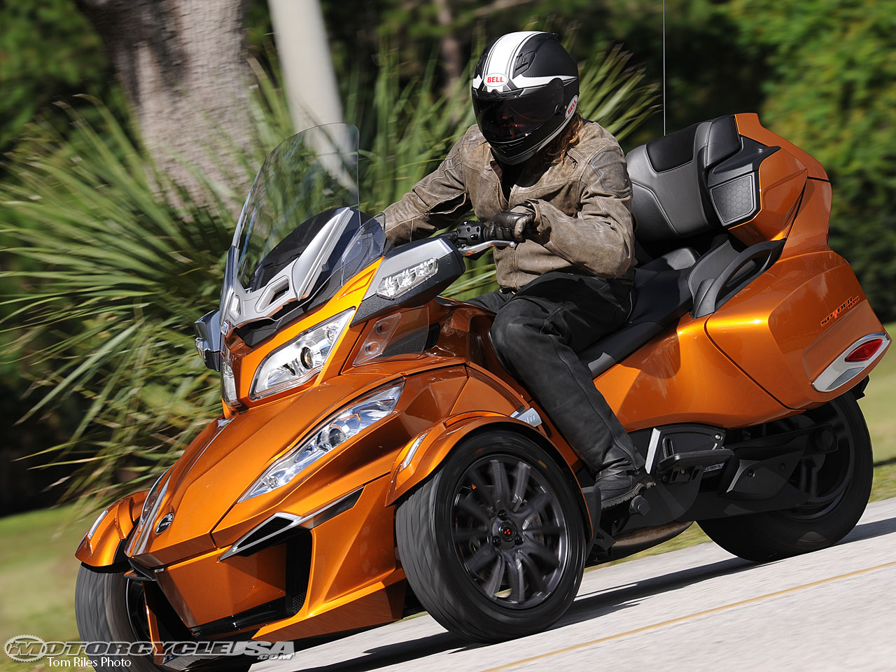 Can-Am Spyder ST 2014 images #68535