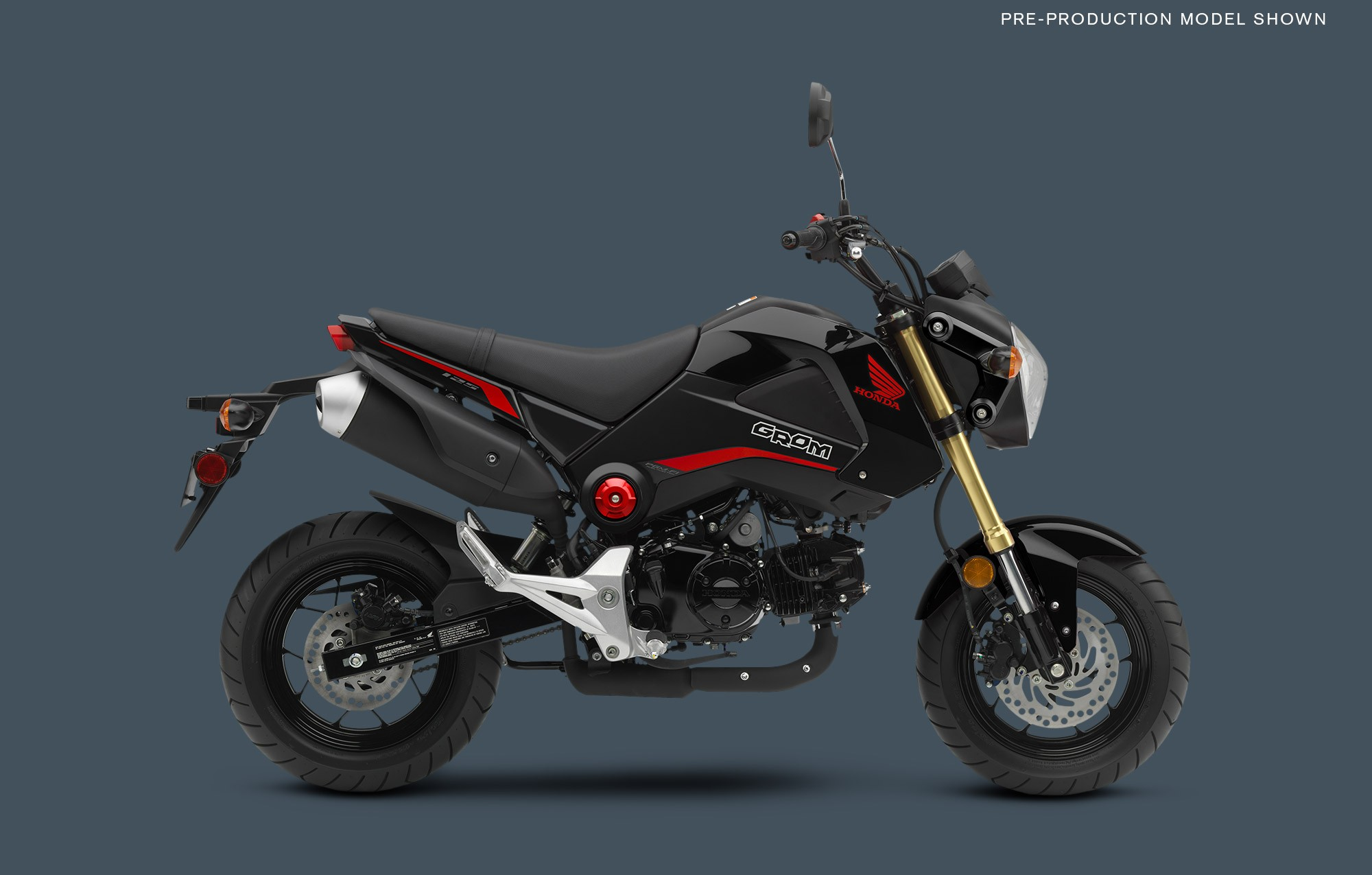 Honda Grom 125 Pics Specs And List Of Seriess By Year Onlymotorbikes Com