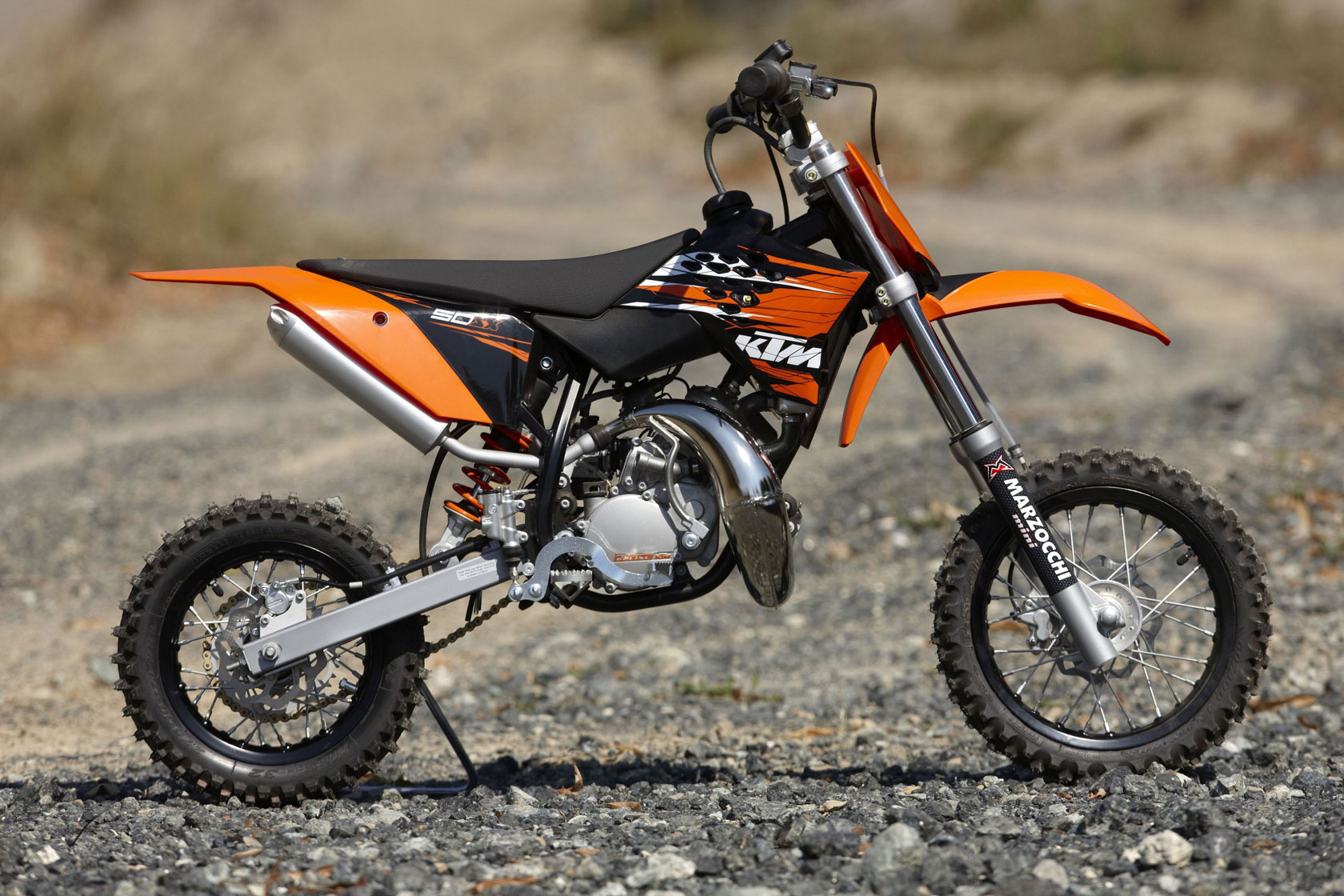 KTM 50 SX: pics, specs and list of seriess by year