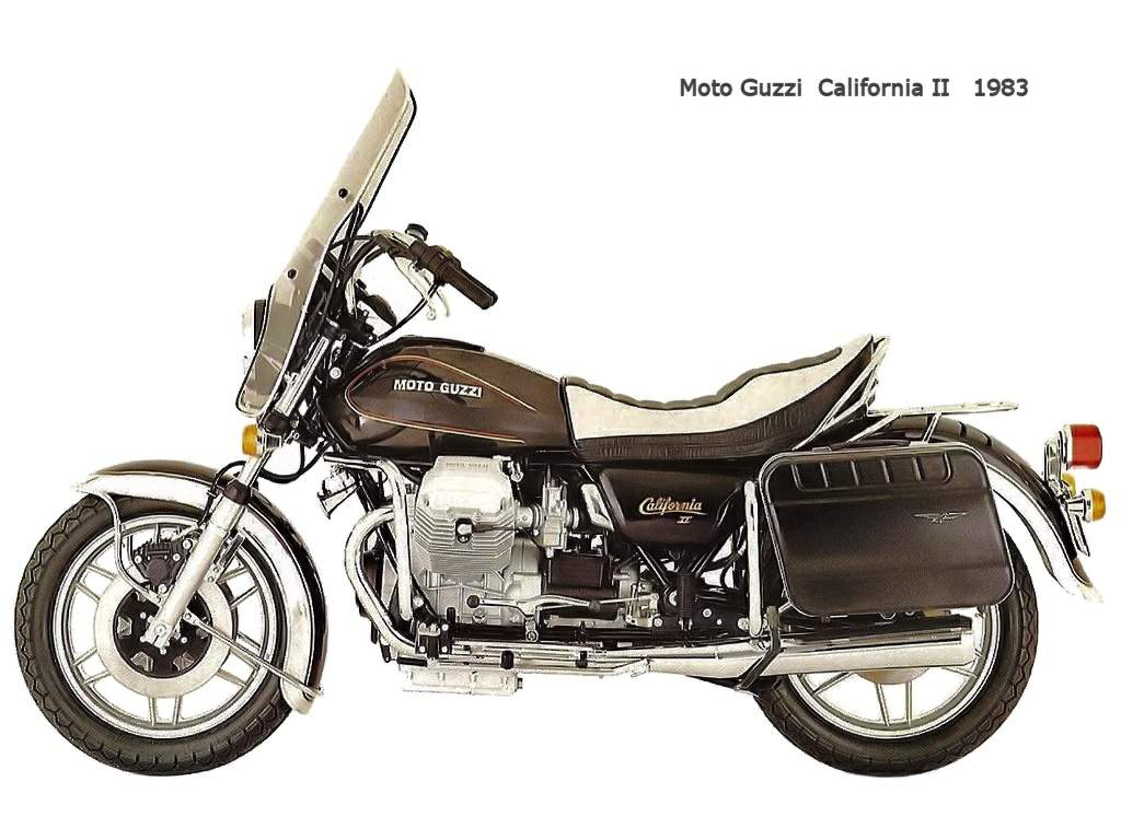 Moto Guzzi California II 1983 images #107470