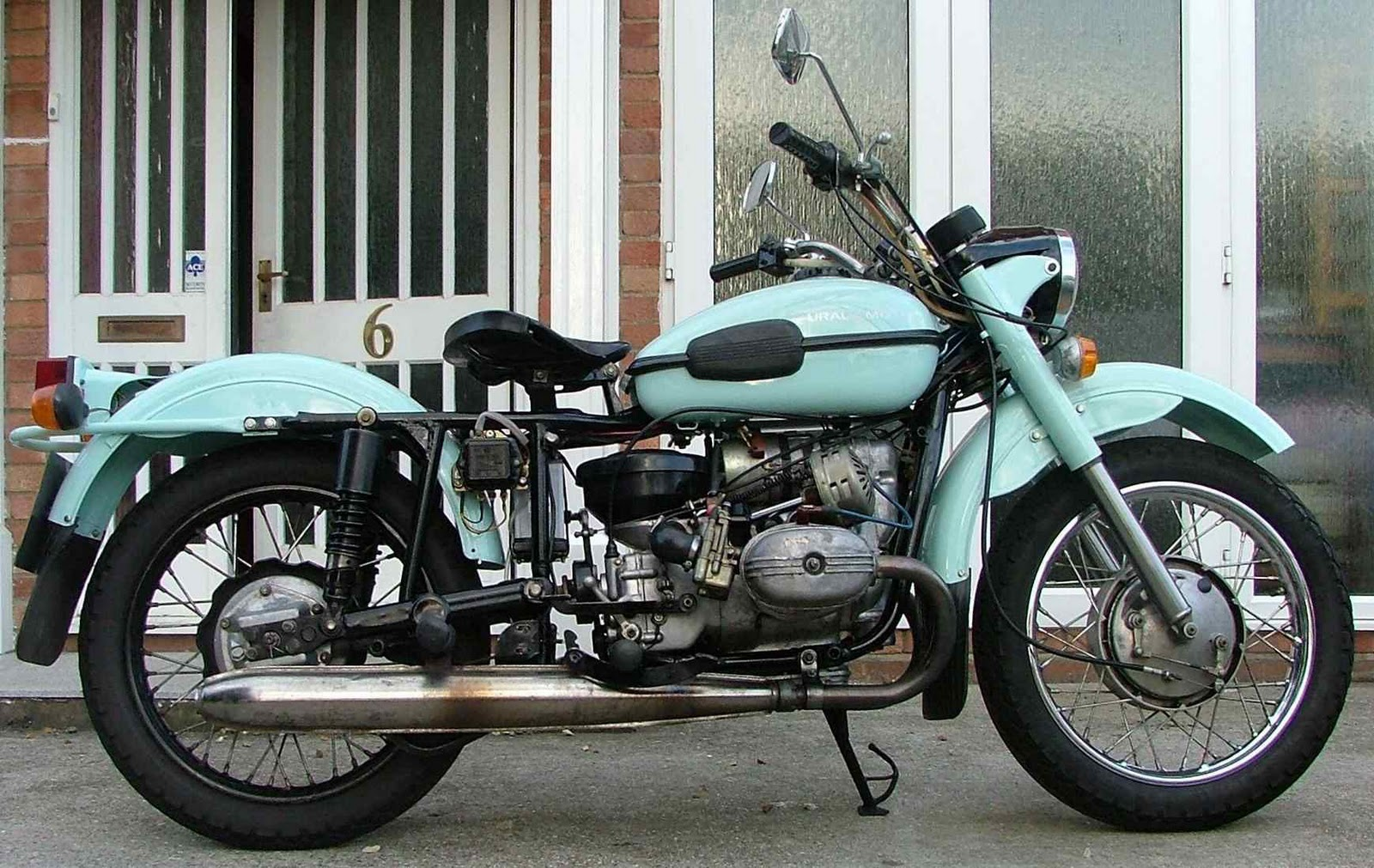 Ural M 66 with sidecar 1974 images #127375