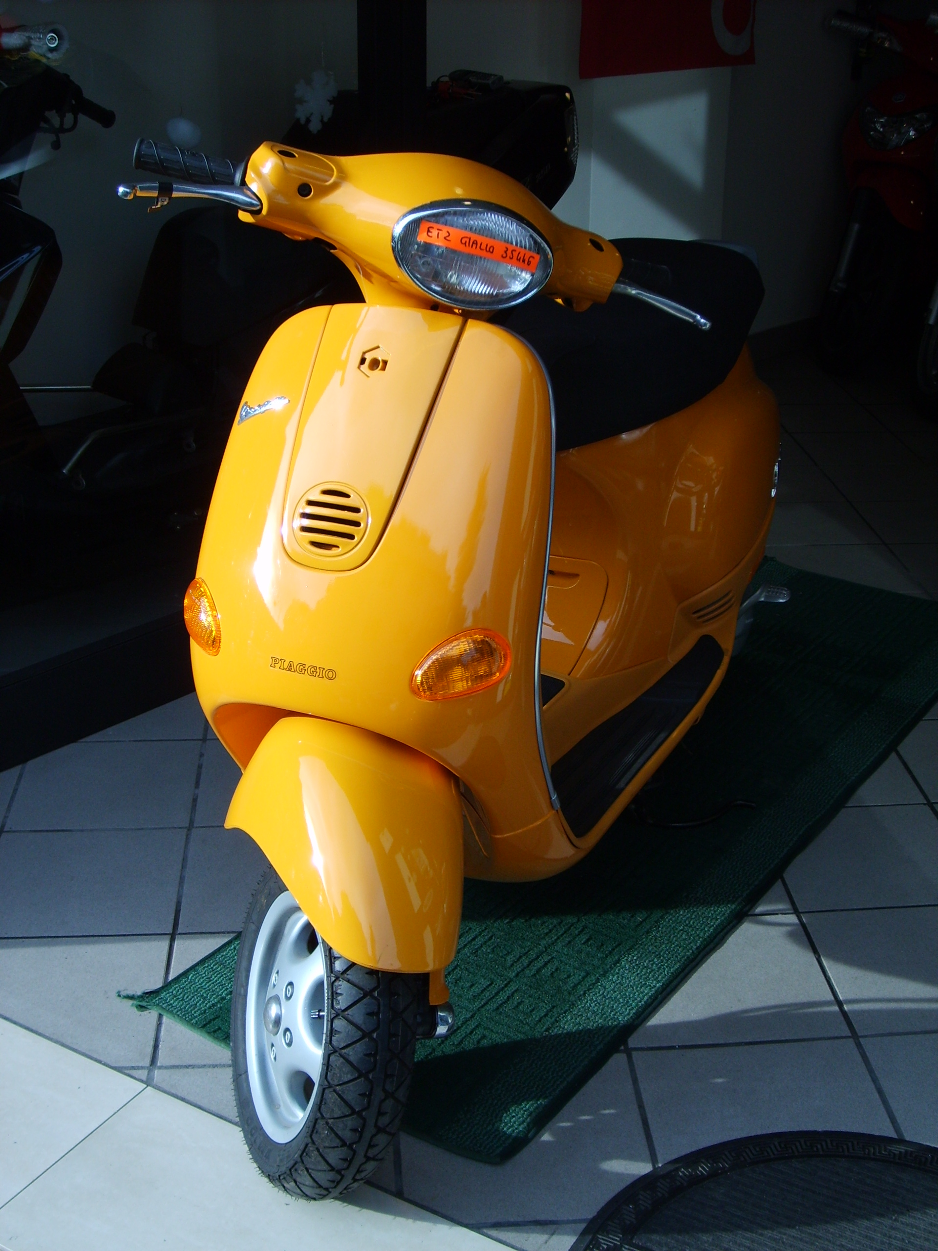 Vespa ET 4 2002 wallpapers #132337