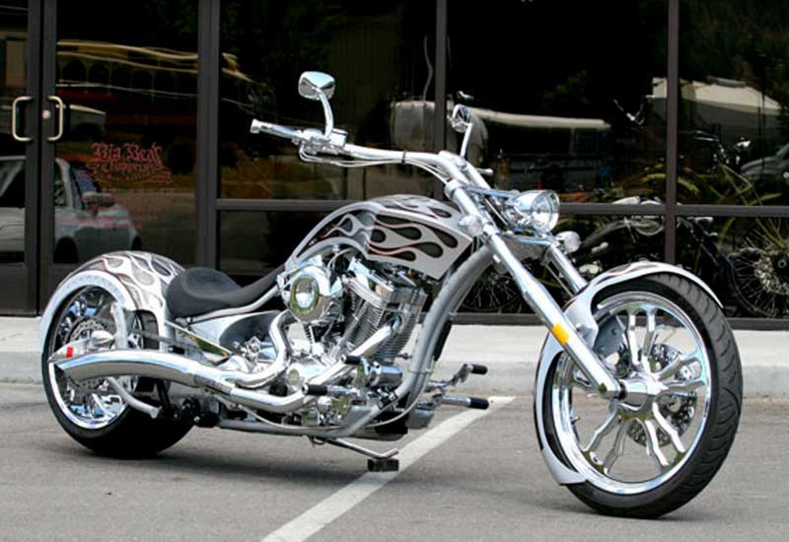 Big Bear Choppers Merc Softail 100 Smooth Carb images #63778