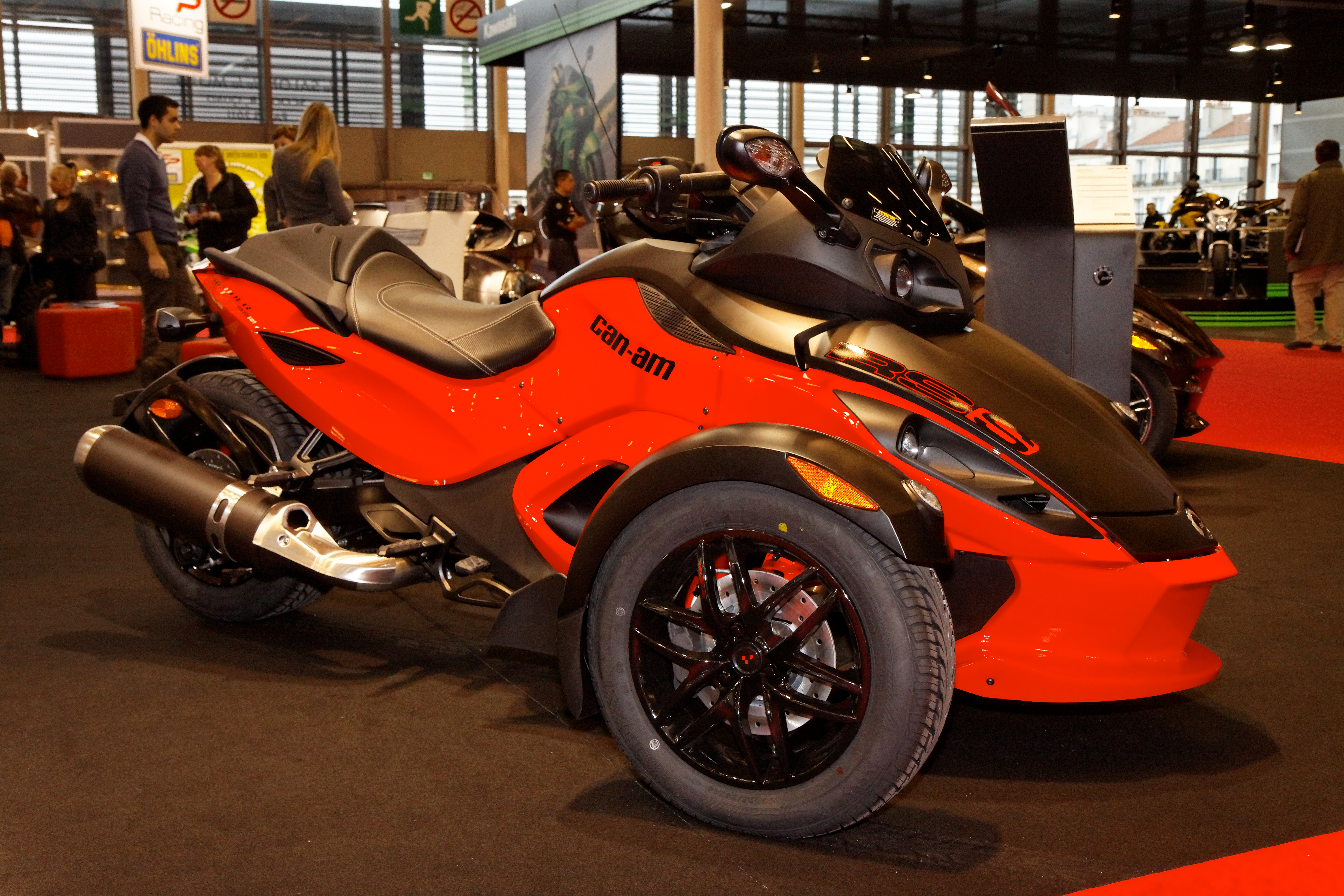 Can-Am Spyder RS-S 2011 images #94395