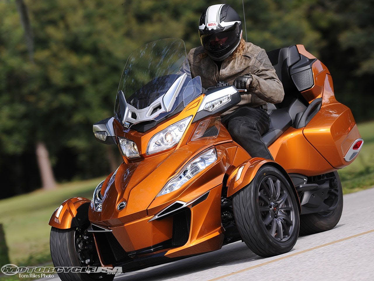Can-Am Spyder ST 2014 images #68536