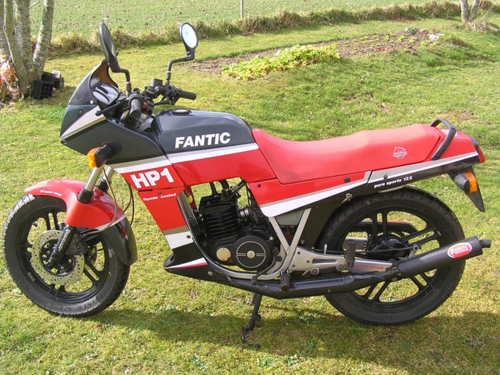 Fantic 125 Sport HP 1 1990 images #72381