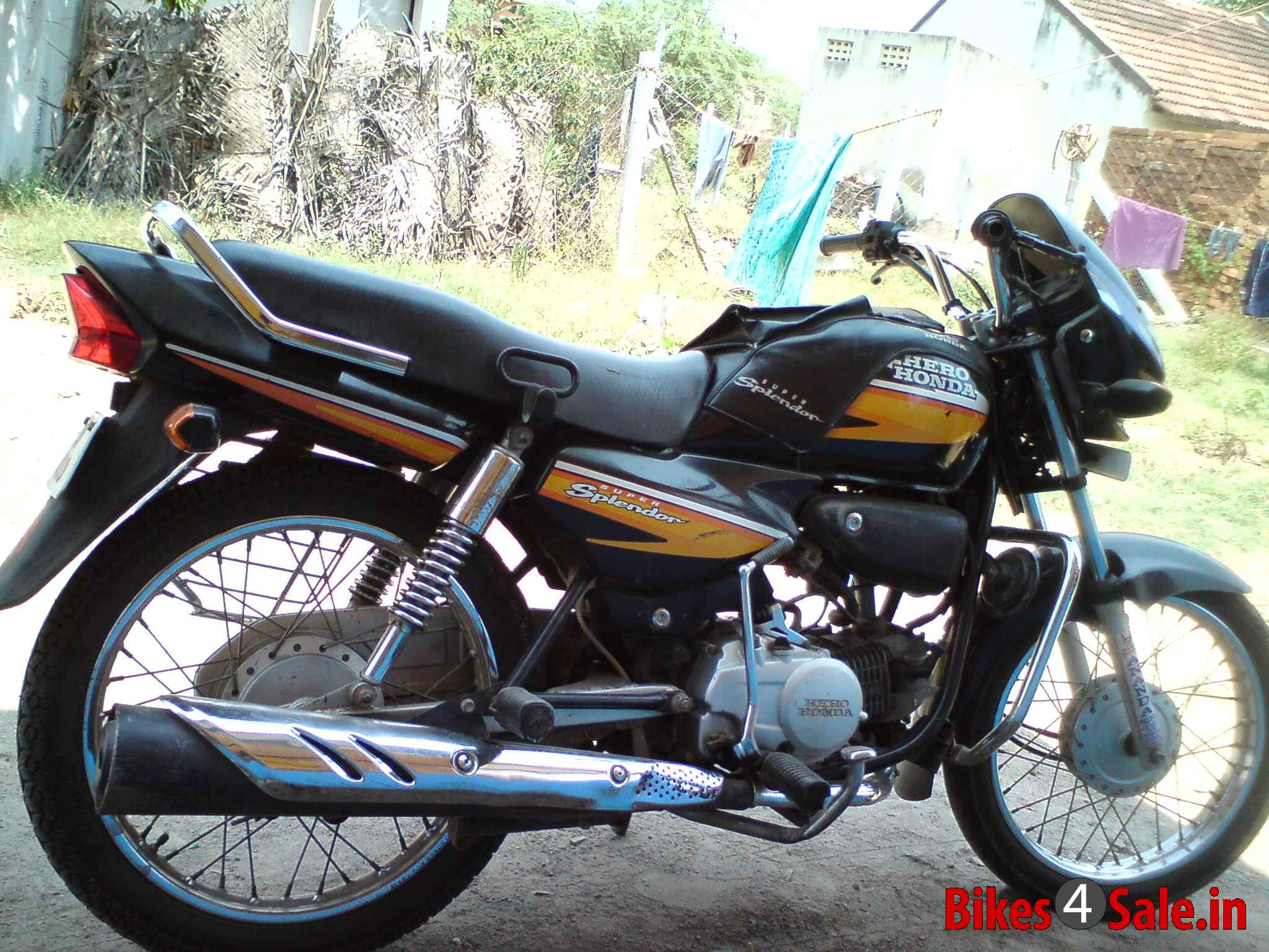 Hero Honda Splendor 2007 images #95884