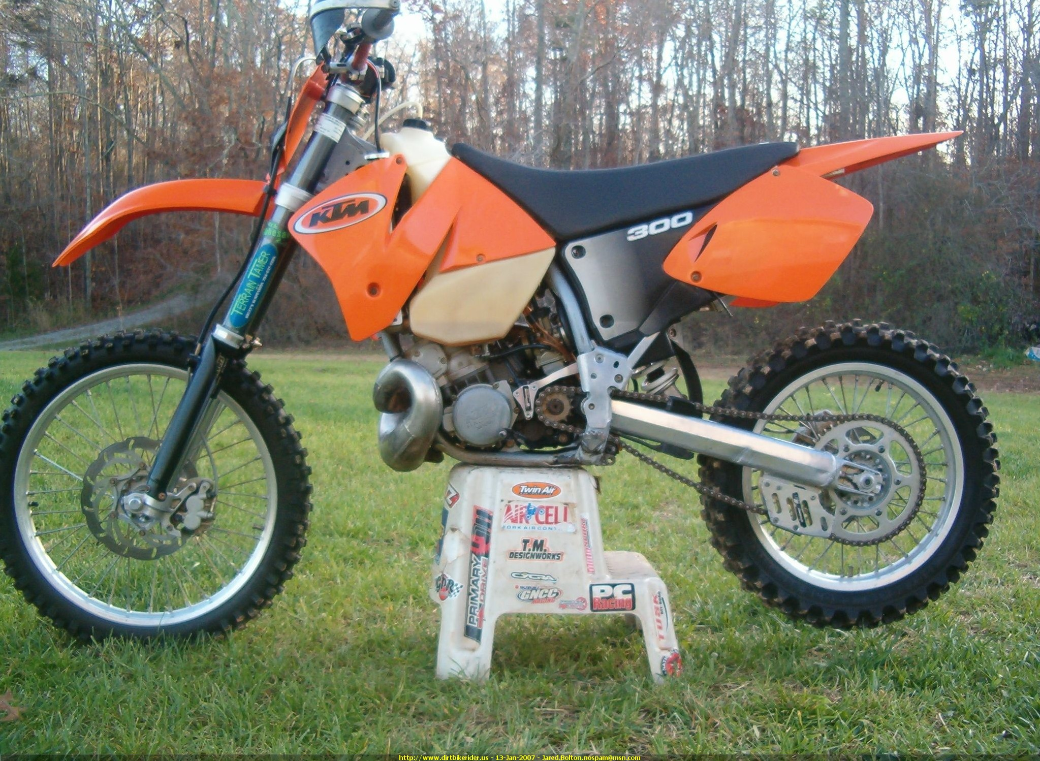 KTM 300 MXC 2002 images #85463