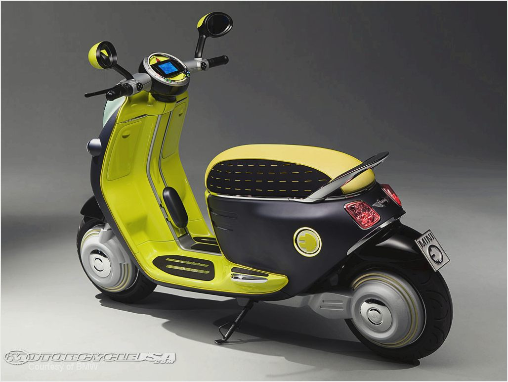 MINI Scooter E Concept images #106872