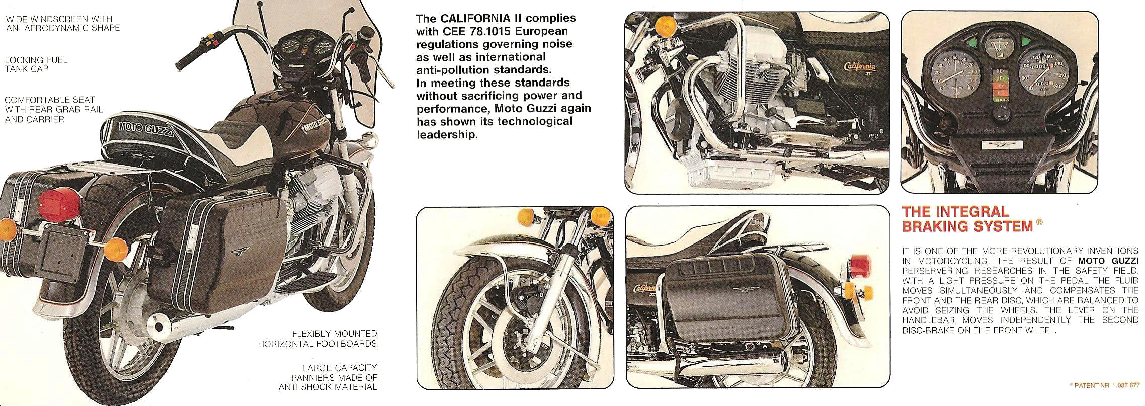 Moto Guzzi California II 1983 images #107471