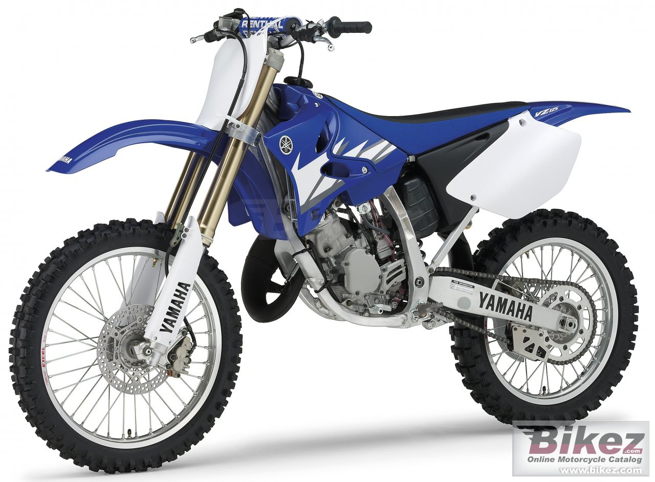 2004 yamaha yz 125 pics specs and information. Black Bedroom Furniture Sets. Home Design Ideas