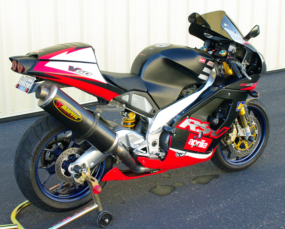 Aprilia RSV Mille 1998 wallpapers #171306