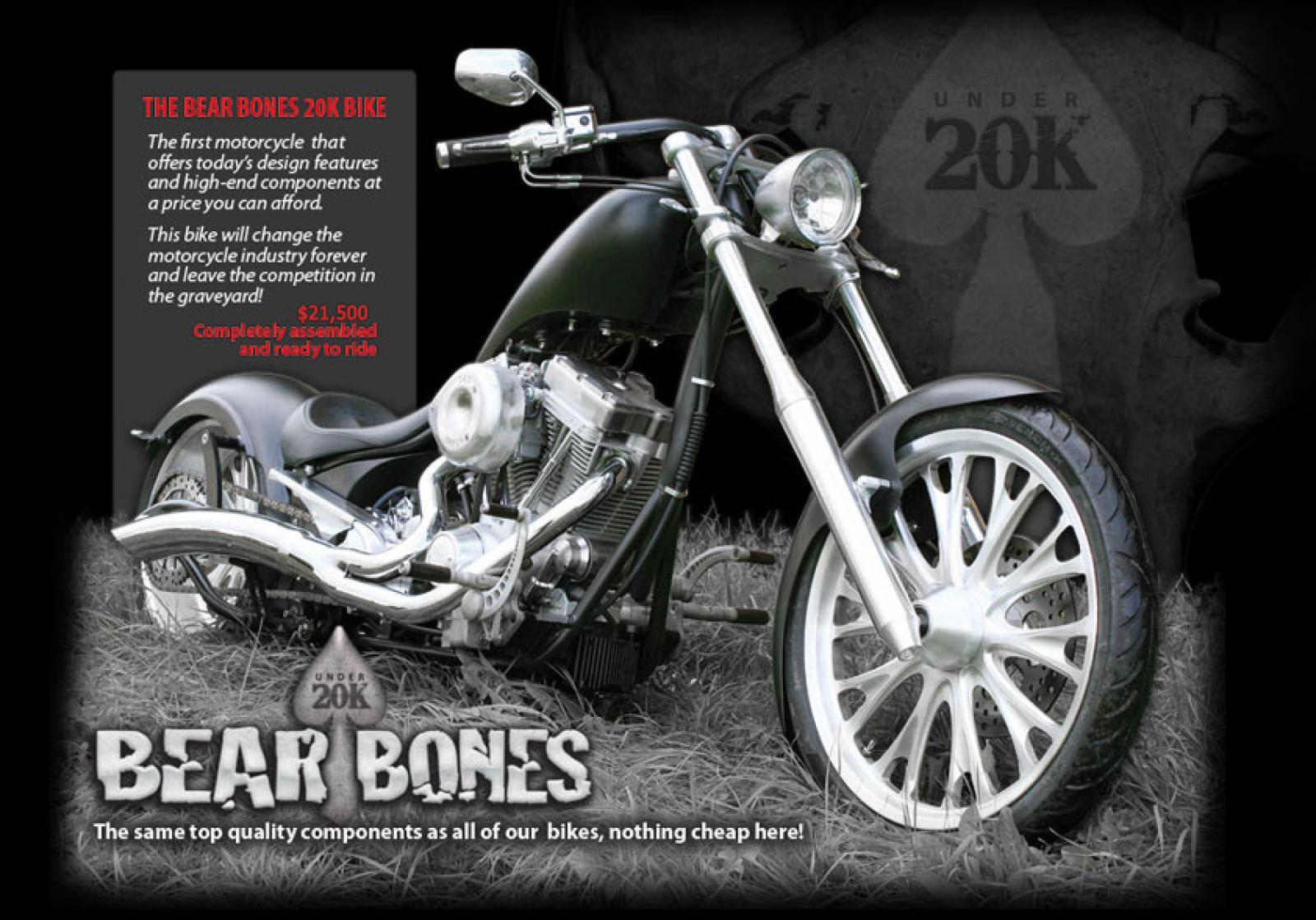 Big Bear Choppers Merc Softail 100 Smooth Carb images #63779