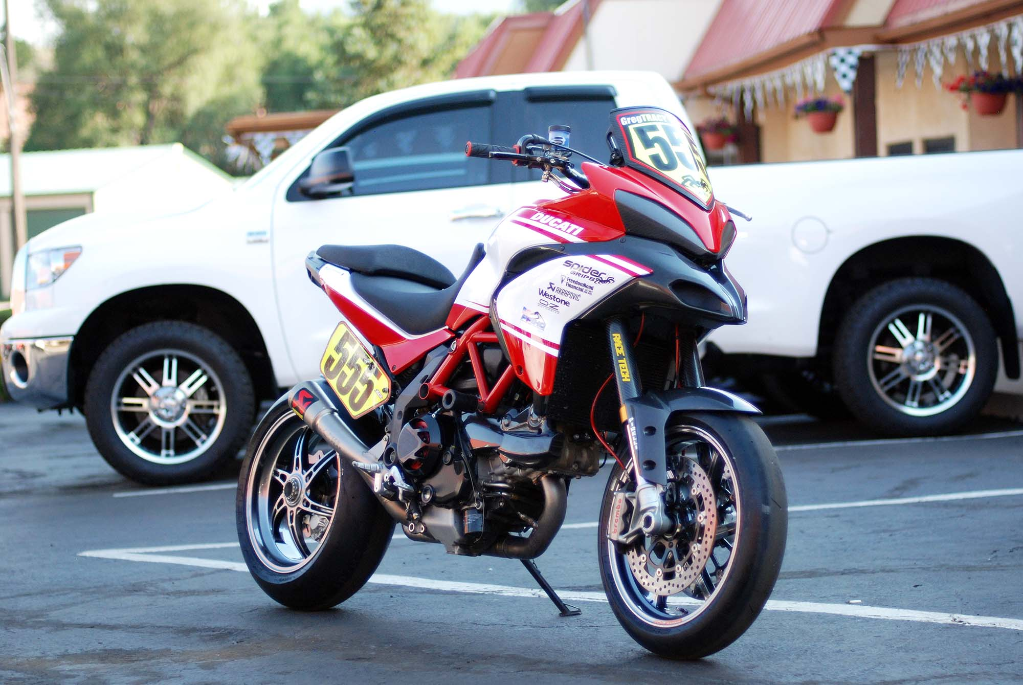 Ducati Multistrada 1200 S Pikes Peak Edition 2013 images #80016