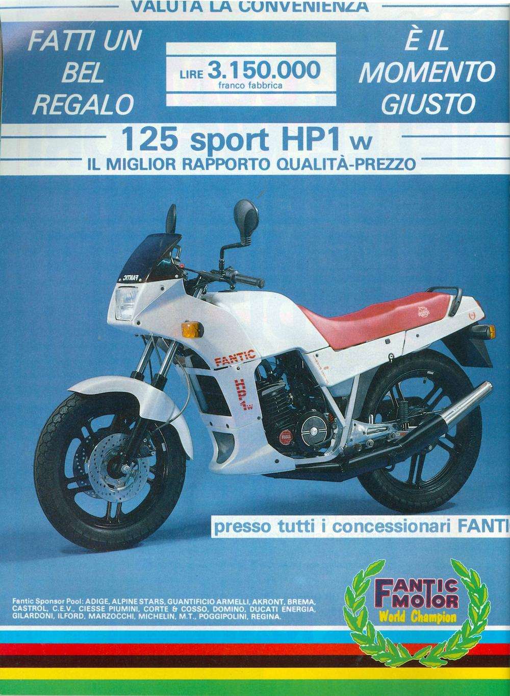 Fantic 125 Sport HP 1 1990 images #72382