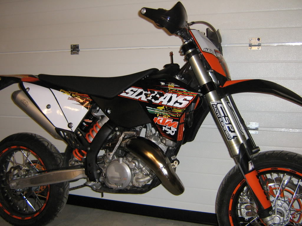 Ktm 125 Exc Sixdays Pics Specs And List Of Seriess By Year Wiring Diagram Six Days 200 37021