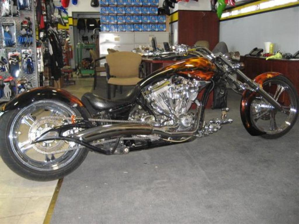 Big Bear Choppers Merc Softail 100 Smooth Carb images #63780