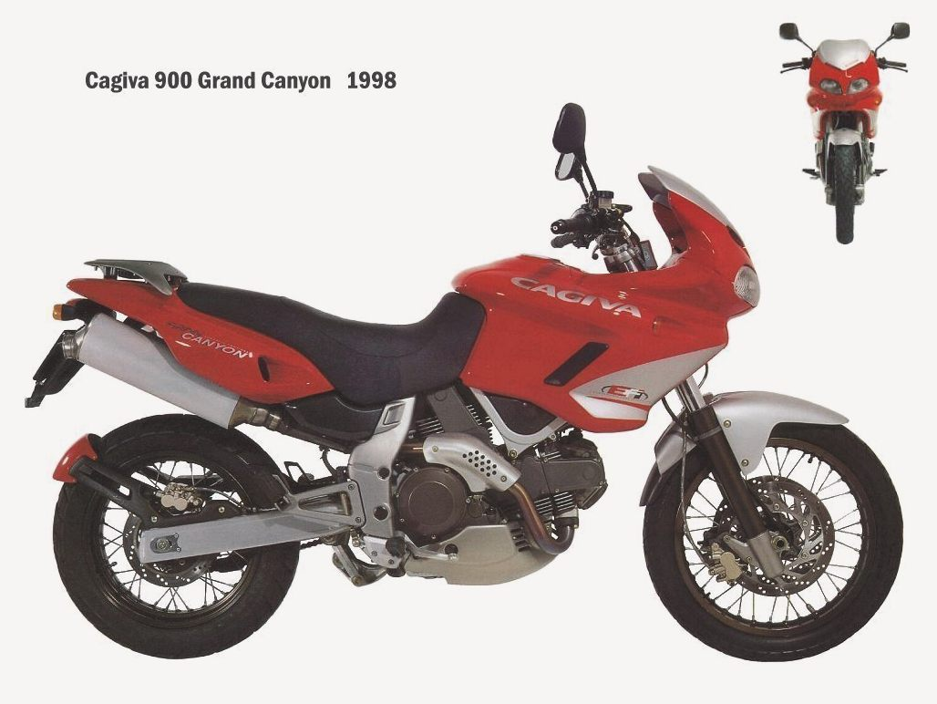 Cagiva Grand Canyon 1998 images #67457