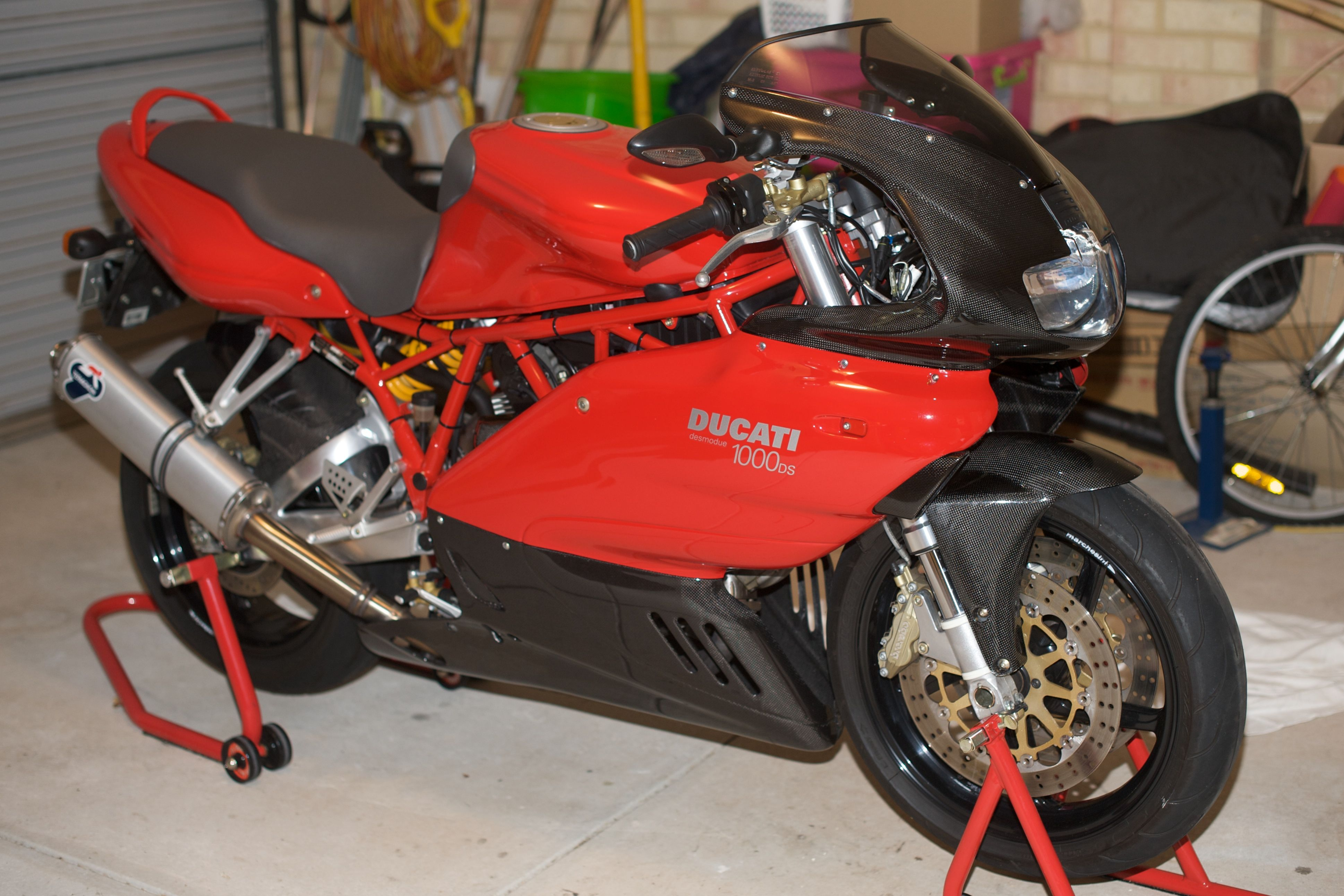 Ducati SS 1000 DS 2003 images #78924