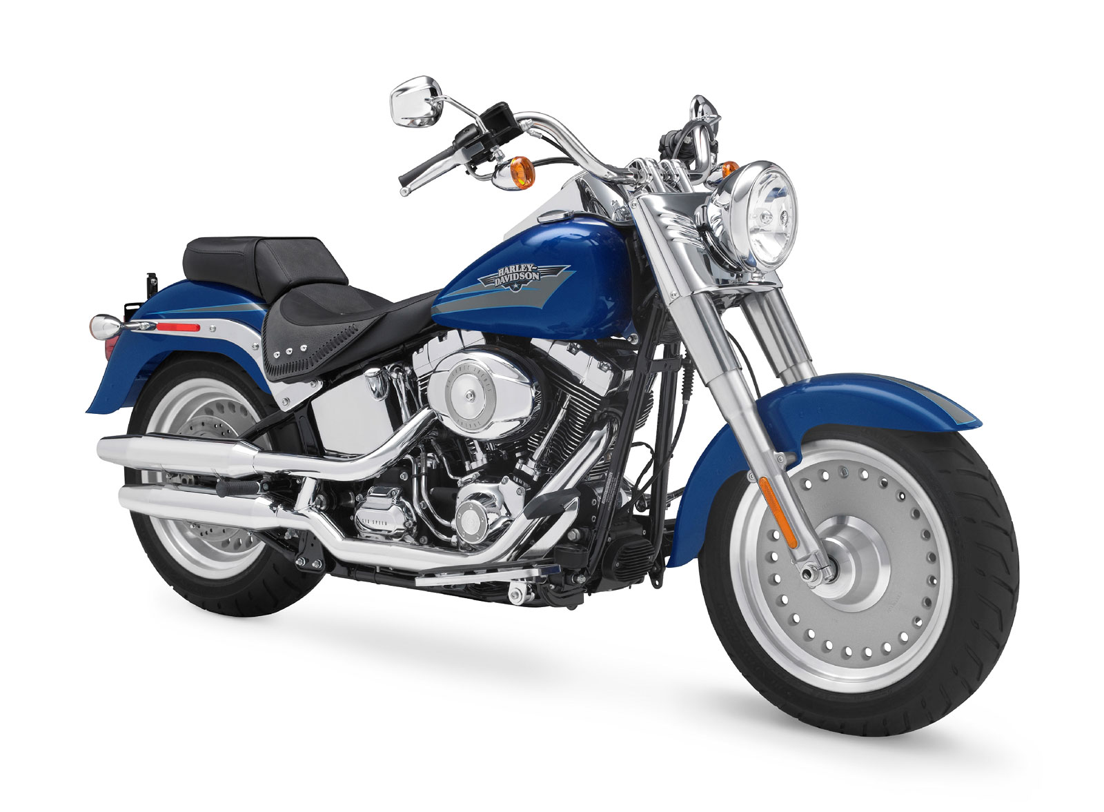 Harley-Davidson FLSTF Fat Boy 2009 images #80415