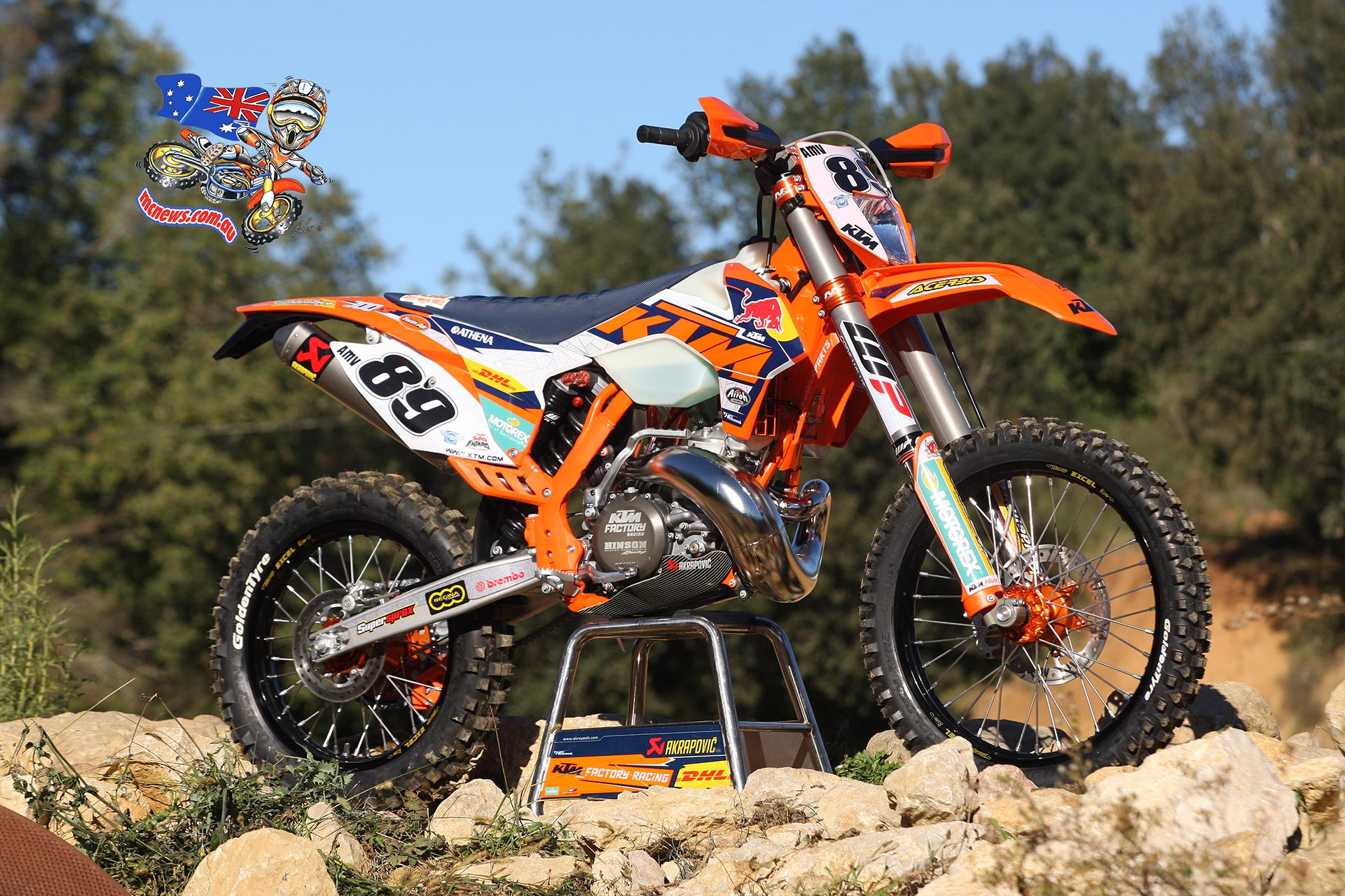 KTM 300 MXC 2002 images #85465