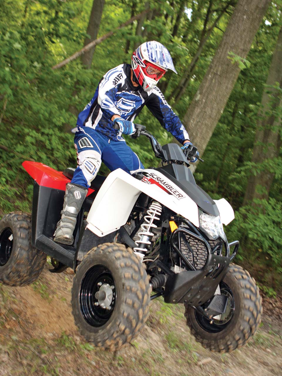 Polaris Scrambler 500 4x4 2006 images #121169