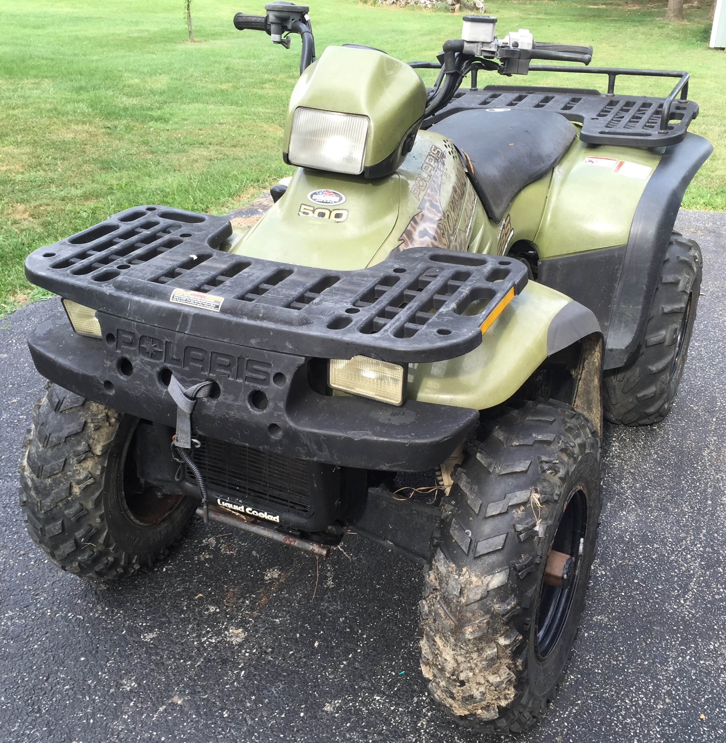 Polaris Sportsman 500 H.O 1999 images #162874