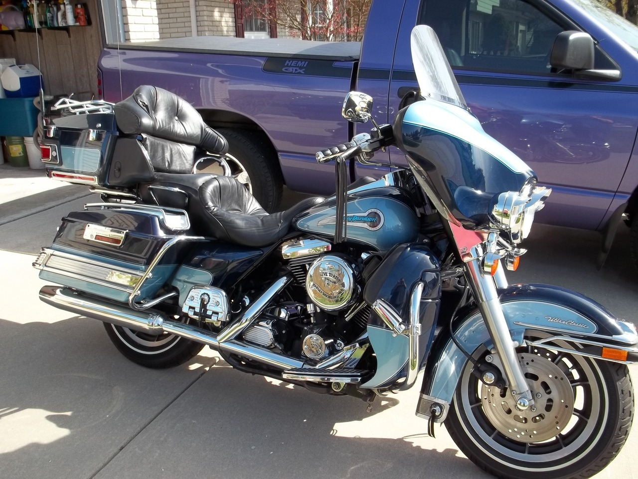 1998 harley ultra classic anniversary edition