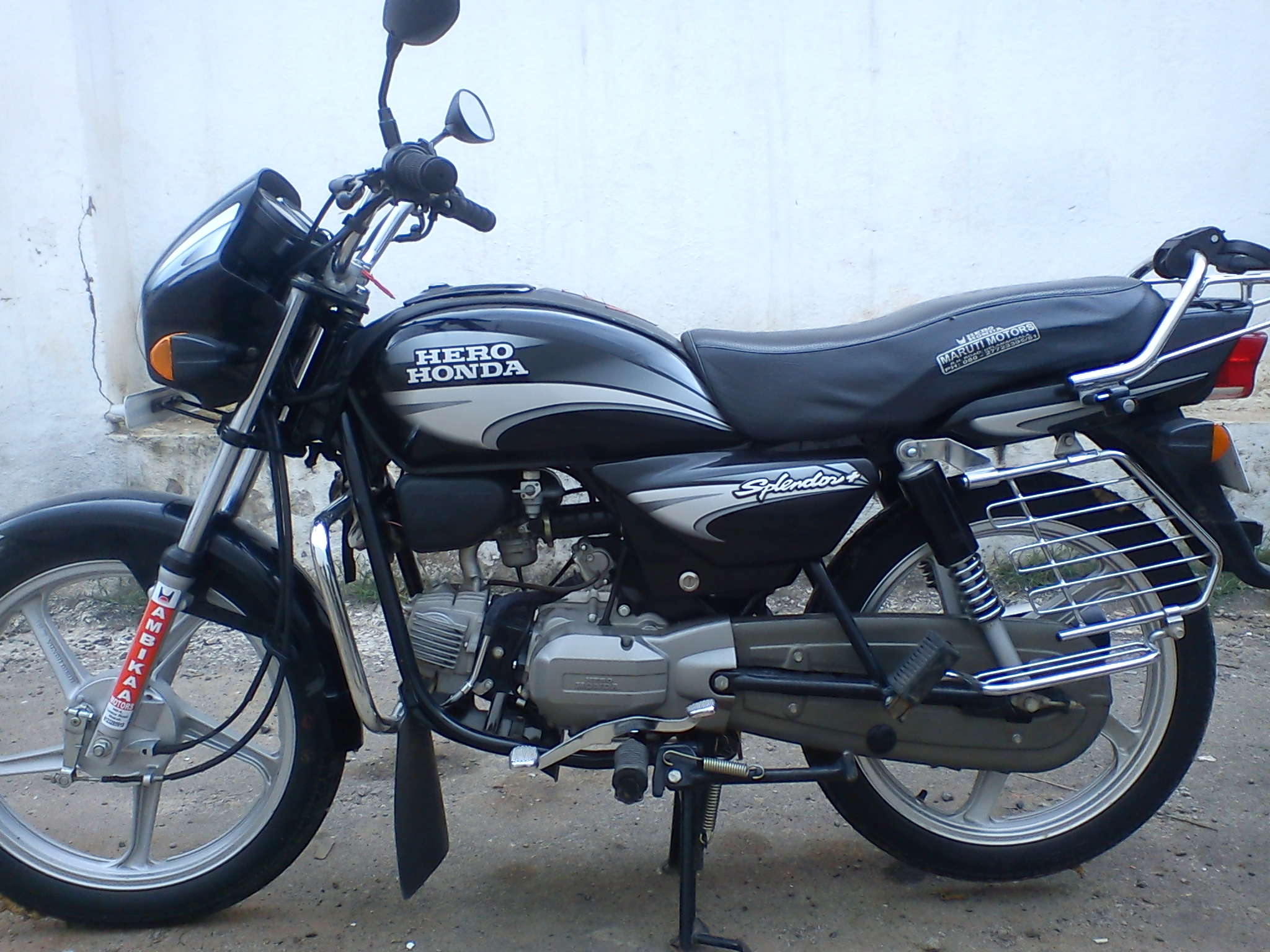Hero Honda Splendor 2007 images #95887