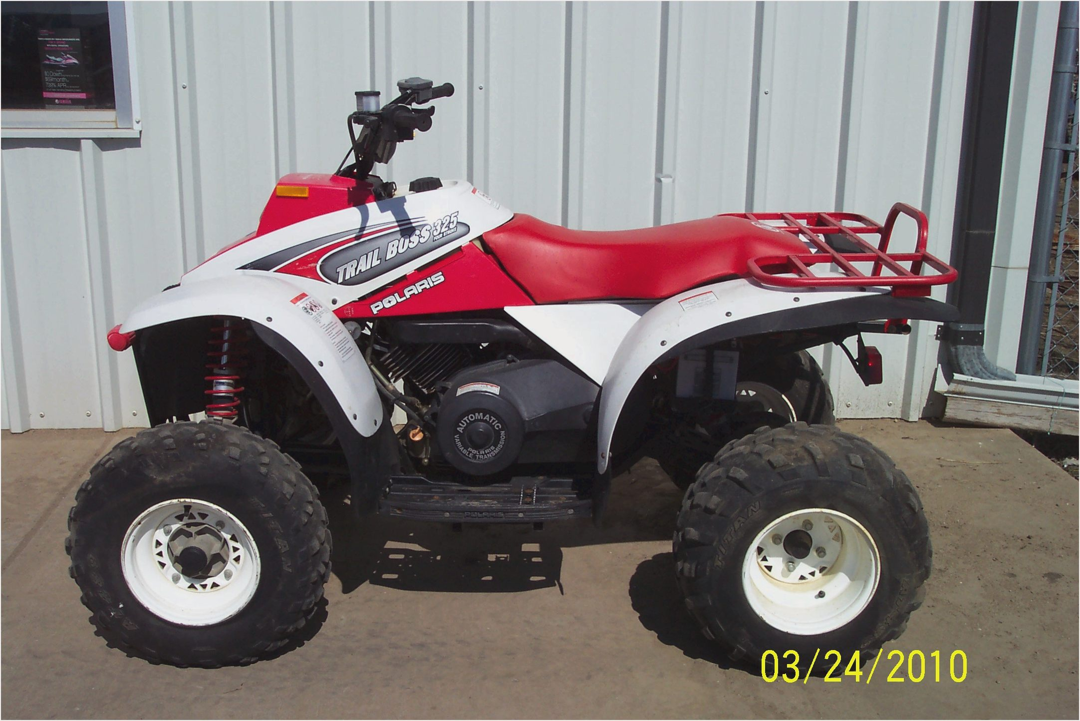 2002 polaris trailblazer specs