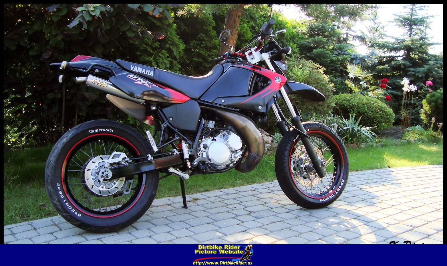 2007 yamaha dt 125 x pics specs and information. Black Bedroom Furniture Sets. Home Design Ideas
