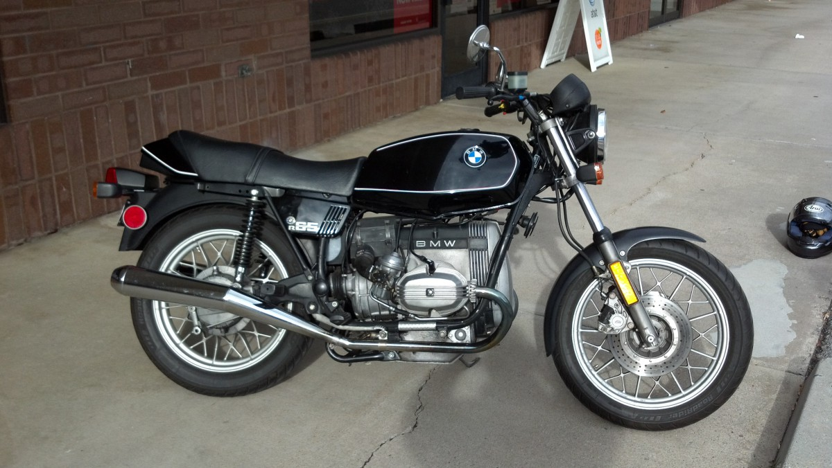 BMW R100RS Mono 1987 images #5075