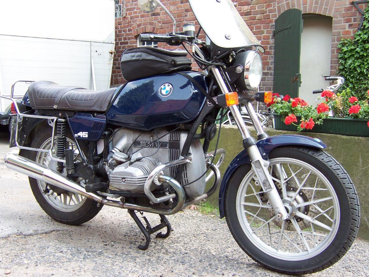 BMW R45 (reduced effect) 1984 images #154546