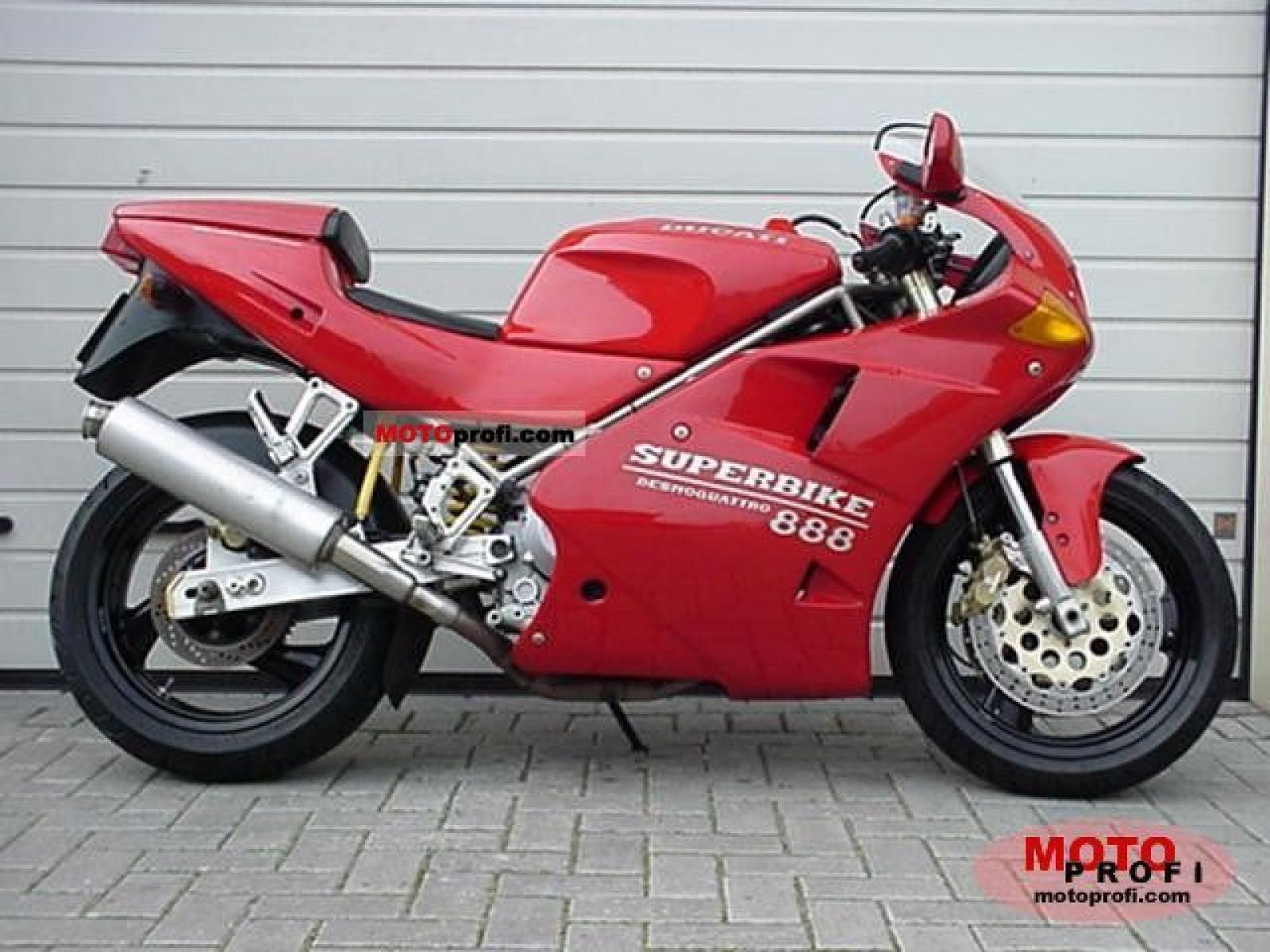 Ducati 888 Strada 1993 wallpapers #10822