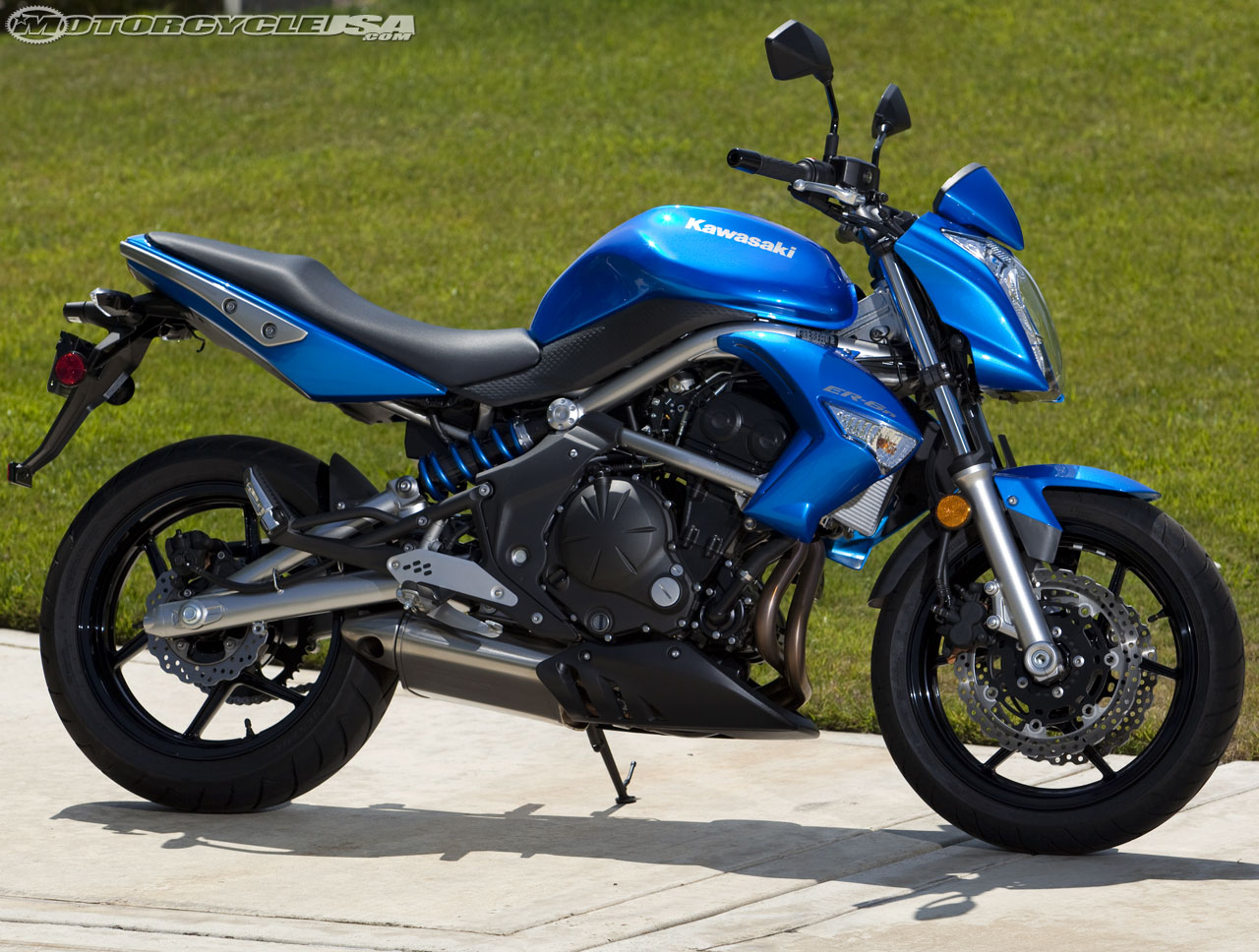 2009 kawasaki er-6n abs: pics, specs and information
