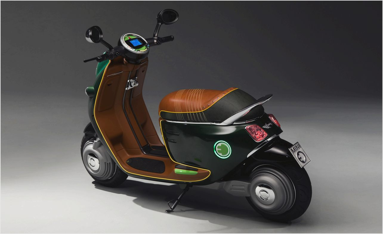 MINI Scooter E Concept images #106876