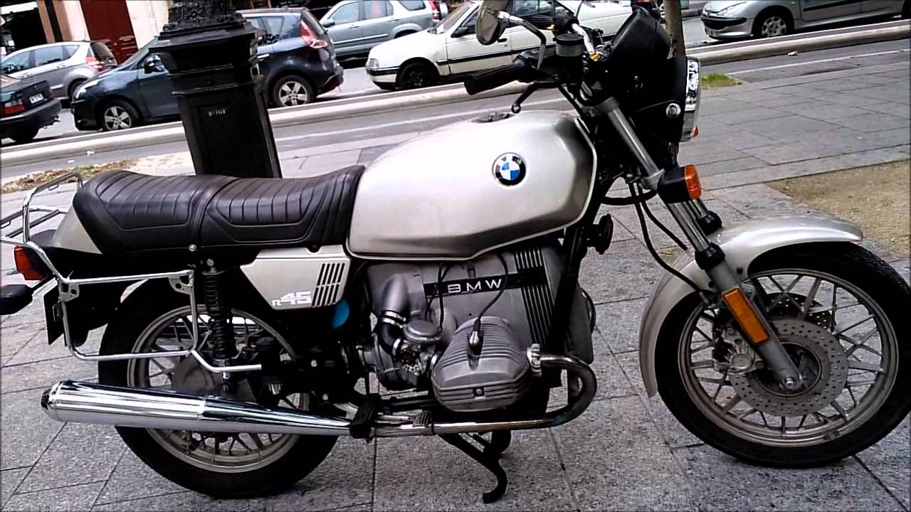 BMW R45 - Classic Motorcycle Review - RealClassic.co.uk