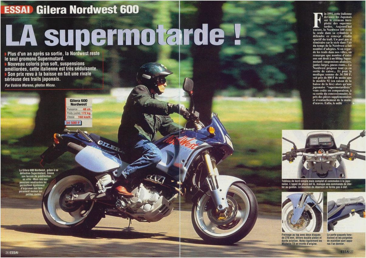 Gilera 600 Nordwest 1991 images #73583