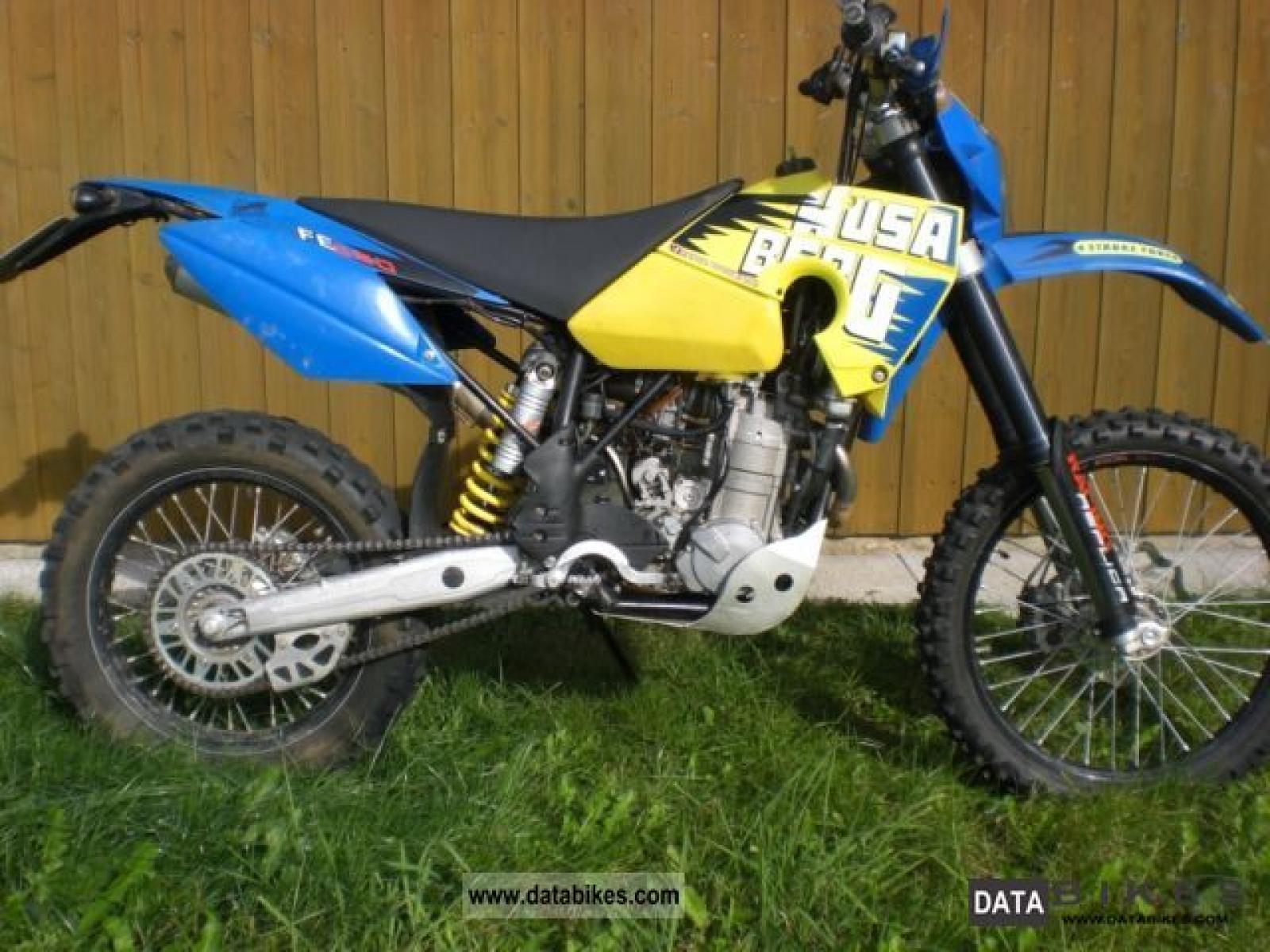 Husaberg FC 550 / 6 2003 wallpapers #137590