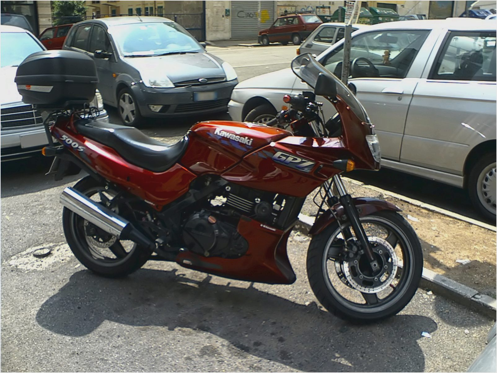 Kawasaki GPZ 500 S (reduced effect) 1993 pics #31860