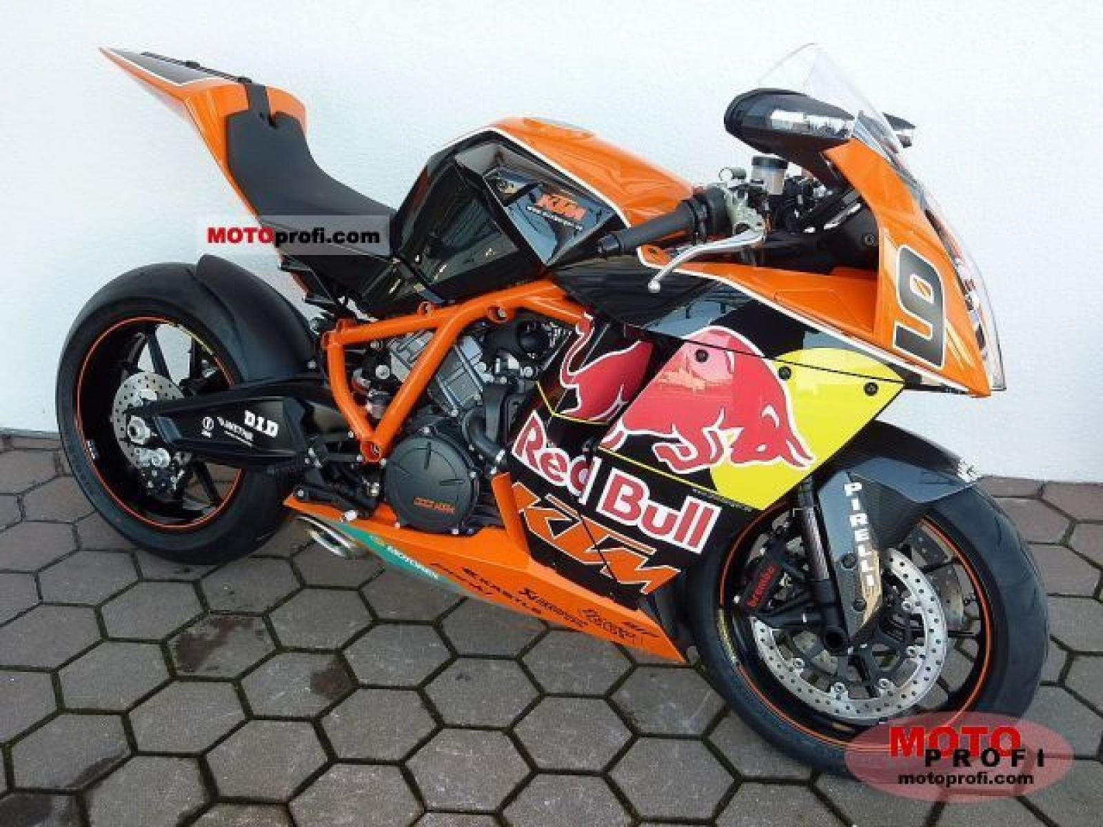 KTM 1190 RC8 R Red Bull Limited Edition 2010 images #86763