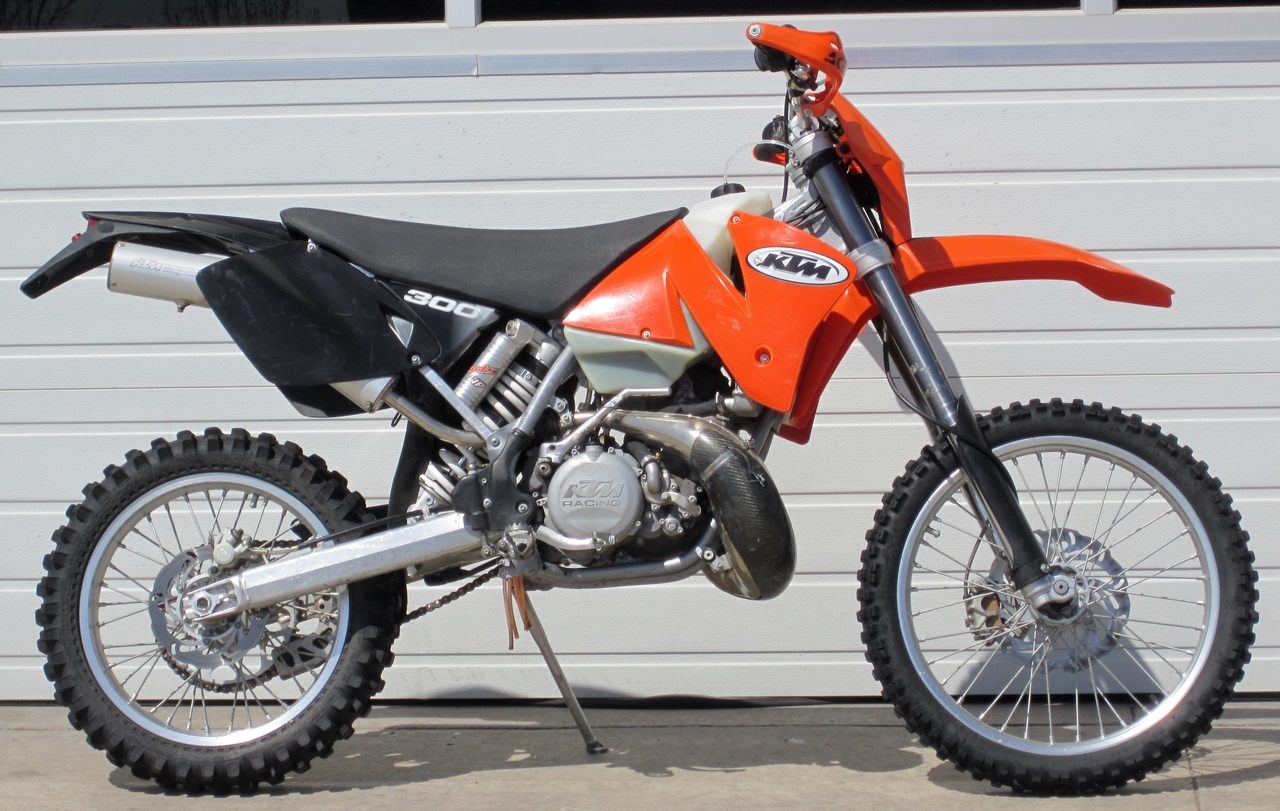KTM 300 MXC 2002 images #85468