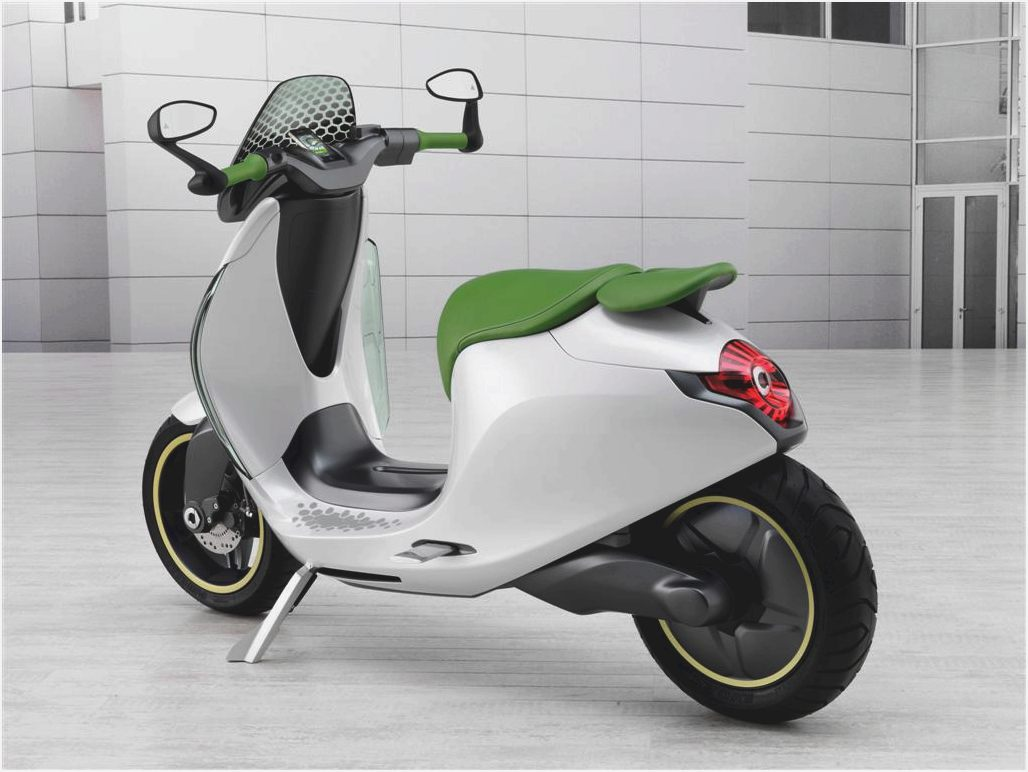 MINI Scooter E Concept images #106877