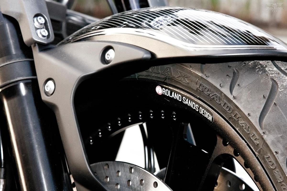 Yamaha VMAX Hyper Modified Roland Sands 2013 images #94500