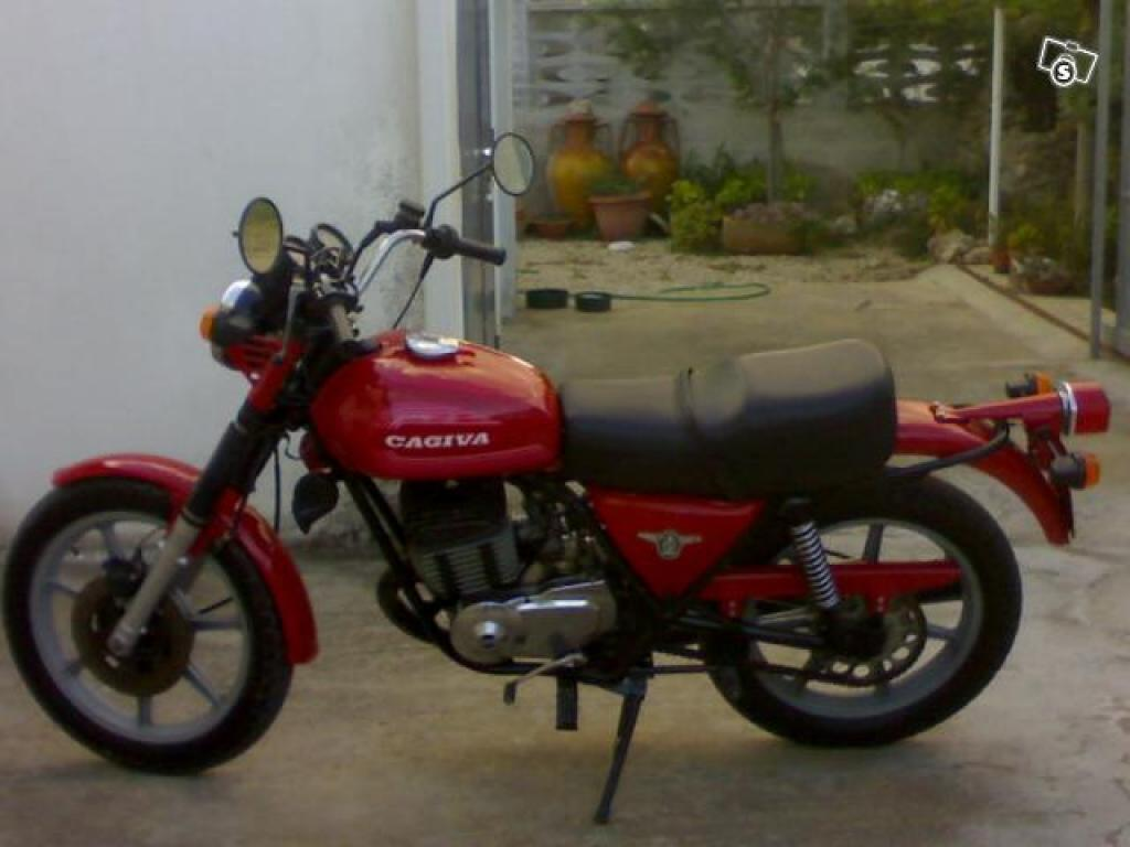 Cagiva SST 350 1980 images #66575