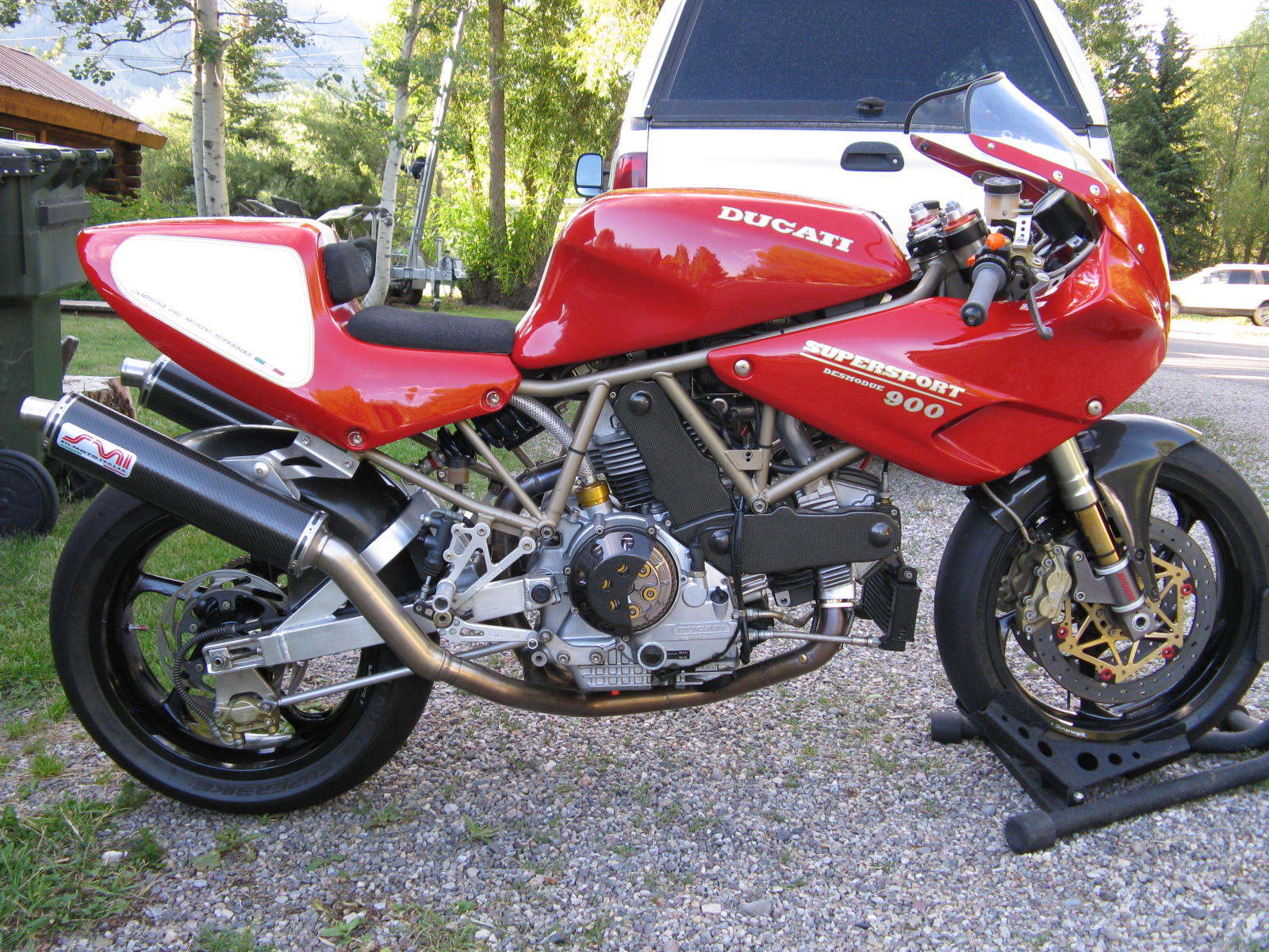 Ducati 900 SS 1997 images #79027