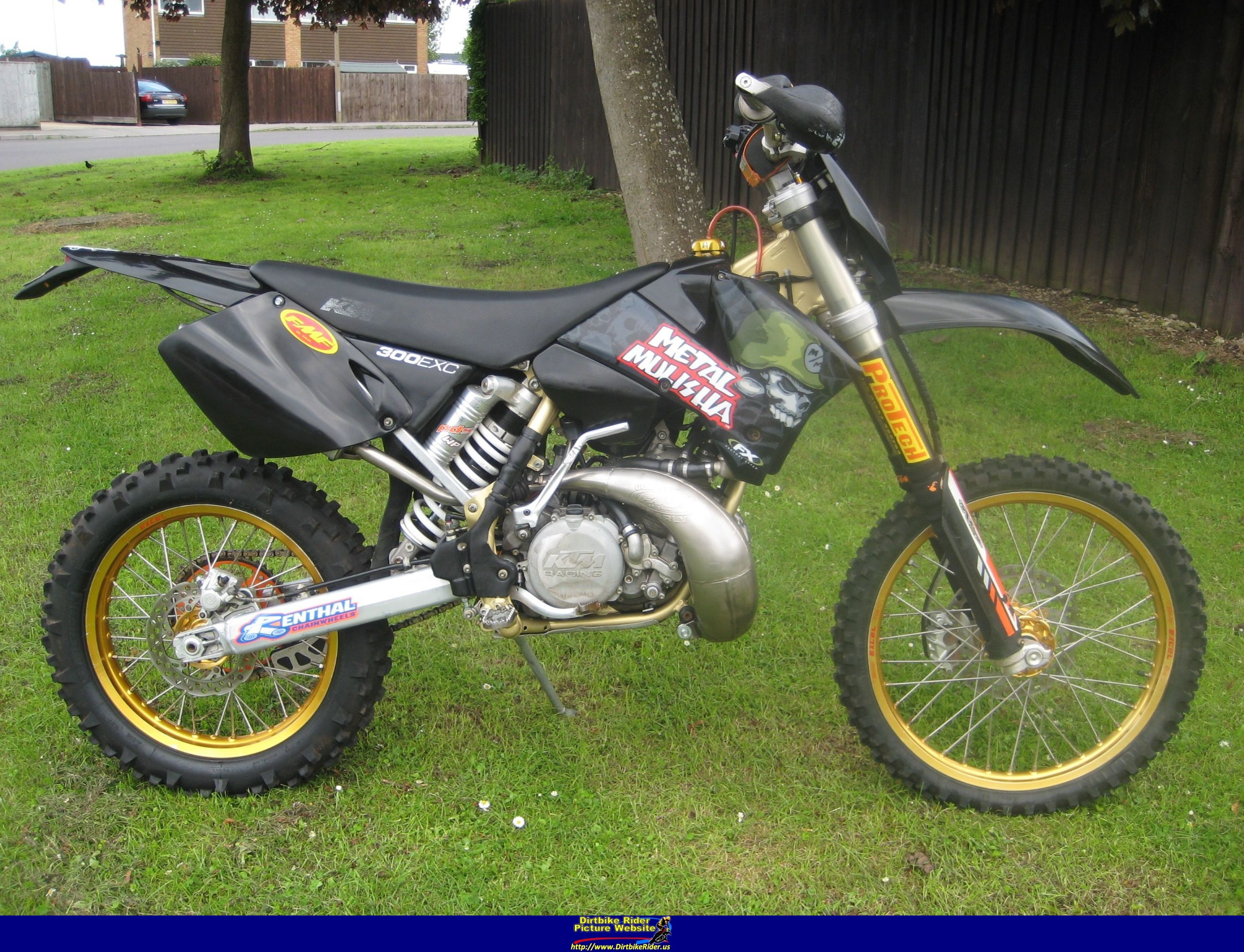 2004 ktm 300 exc weight loss